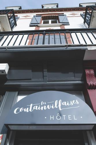 Hôtel Les Coutainvillaises : Hotel near Brainville
