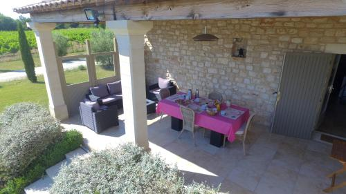 Domaine Perdrix-Lasouche : Guest accommodation near Saint-Chaptes