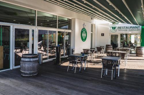 Hotel Bar Restaurant Le Chaudron Vert : Hotel near Saint-Héand