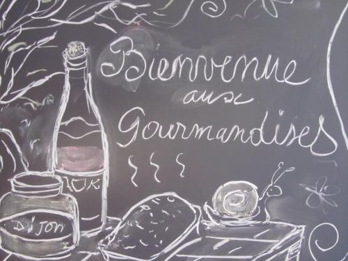 Aux Gourmandises : Bed and Breakfast near Pontoux