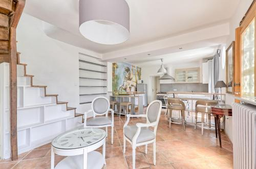 Home Garden : Apartment near Chessy