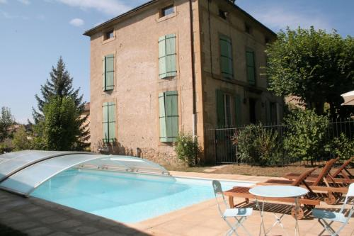 Maison Carrée - Chalabre : Guest accommodation near Saint-Jean-d'Aigues-Vives