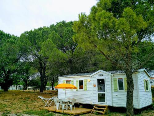 Mobil home 6 personnes à 10min des plages : Guest accommodation near Sigean