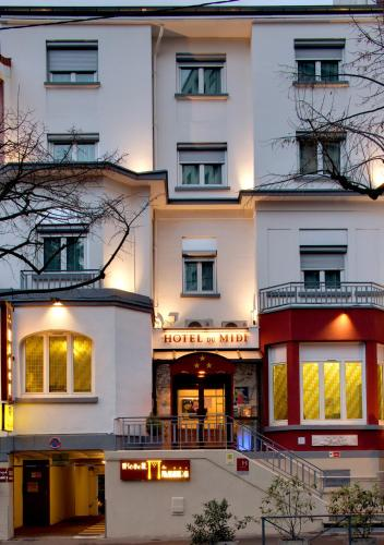 Hôtel du Midi : Hotel near Saint-Genest-Lerpt