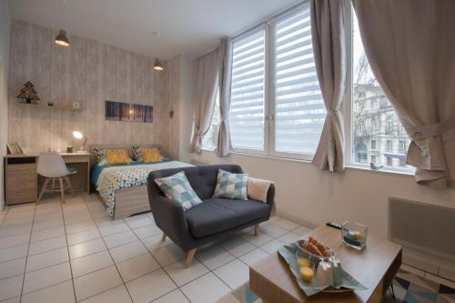 Appart'Confort - Le Scandi-Cosy : Apartment near Saint-Brieuc