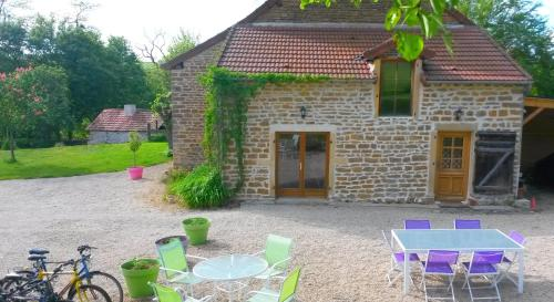 Gite la malterre : Guest accommodation near Saint-Laurent-d'Andenay