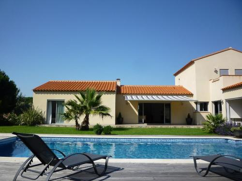 Villa Villa Lavande : Guest accommodation near Brouilla