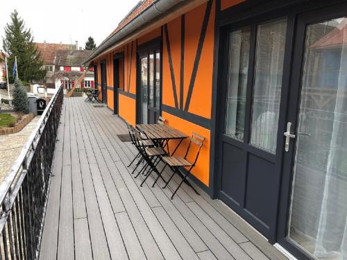 Les Granges de Jadis : Apartment near Muntzenheim
