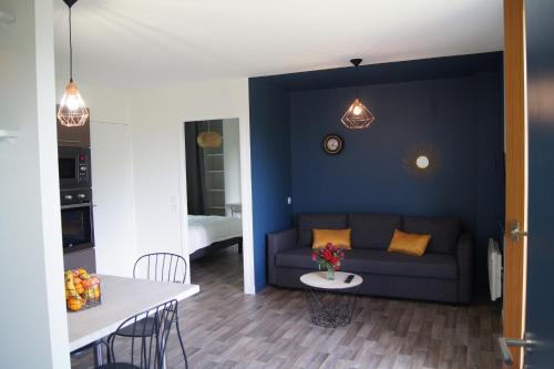 Les Gîtes de l'Oree : Apartment near Landujan