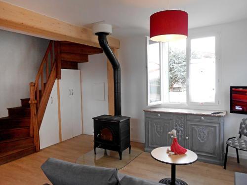 Holiday Home Maison Les Oies : Guest accommodation near Saint-Jacques-d'Ambur