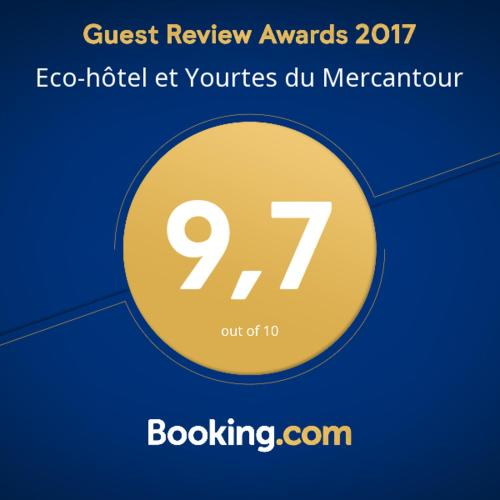 Eco-hôtel et Yourtes du Mercantour : Guest accommodation near Saint-Léger