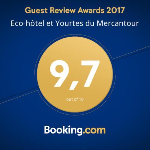 Eco-hôtel et Yourtes du Mercantour : Guest accommodation near La Rochette