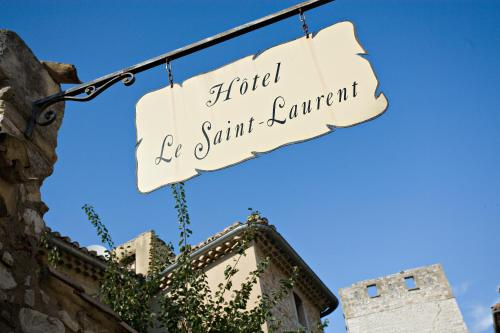 Hotel Le Saint Laurent : Hotel near Saint-Laurent-des-Arbres