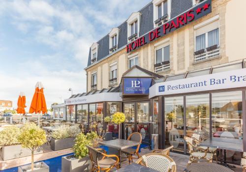 Hôtel de Paris : Hotel near Graye-sur-Mer