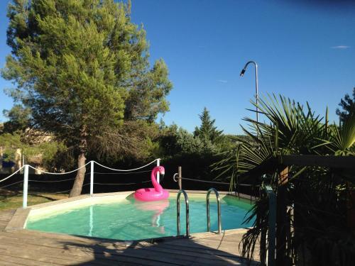 Le Cabanon : Guest accommodation near Camps-la-Source