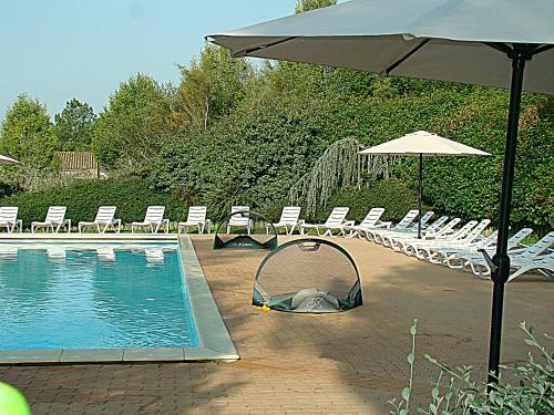 Etang Vallier Resort : Guest accommodation near Boresse-et-Martron