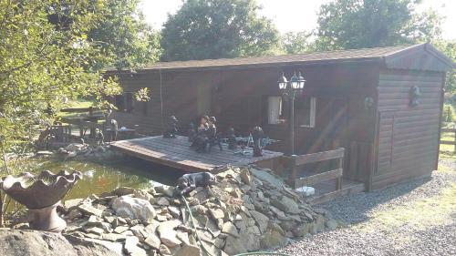 jolly woodman : Guest accommodation near Illifaut