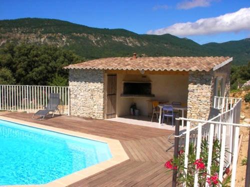 Holiday home Chemin de la Vierge : Guest accommodation near Montbrison-sur-Lez