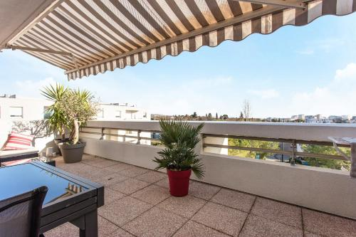 Rooftop millenaire - Premiere conciergerie : Apartment near Vendargues