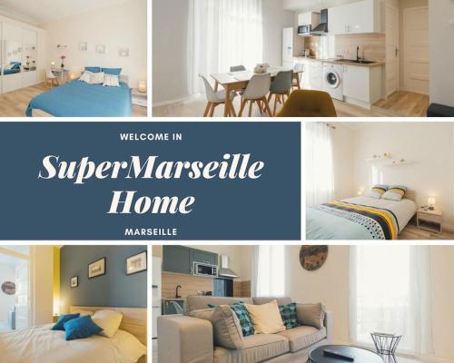 Flat Saint Charles : Apartment near Marseille 13e Arrondissement