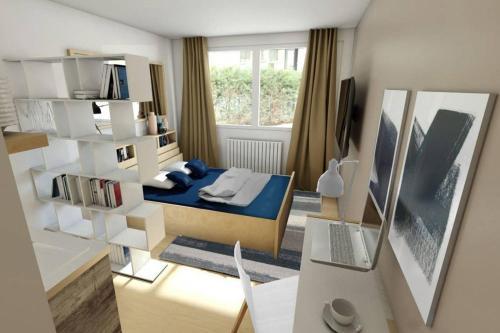 Studio Gare Metz Côté Cour : Apartment near Longeville-lès-Metz