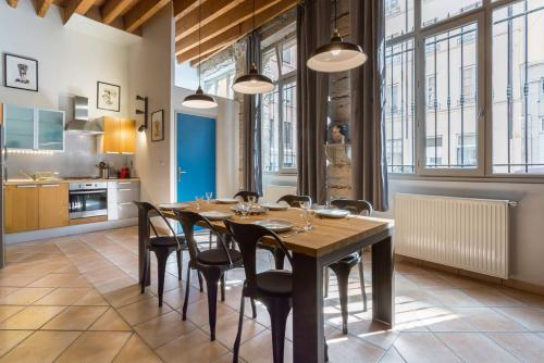 Typical Croix-Roussien Flat : Apartment near Lyon 4e Arrondissement