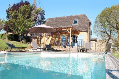 Ferienhaus La Chapelle Aubareil 201S : Guest accommodation near Valojoulx