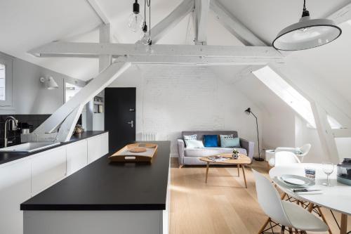 Le Descartes : Apartment near Rennes