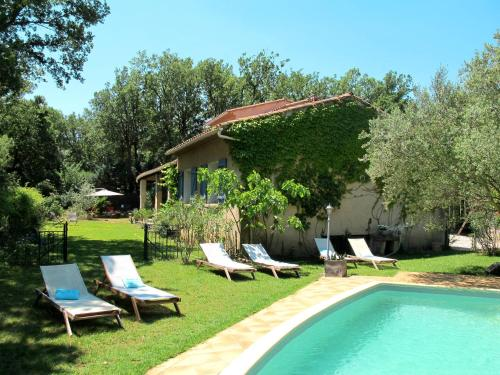 Ferienhaus mit Pool Forcalqueiret 170S : Guest accommodation near Sainte-Anastasie-sur-Issole