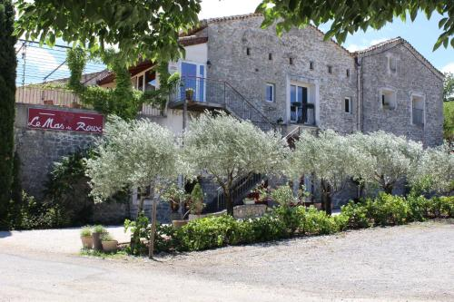 Le Mas de roux Chambres d'hotes : Bed and Breakfast near Crespian