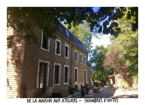 De la Maison aux Ateliers : Bed and Breakfast near Conteville-lès-Boulogne