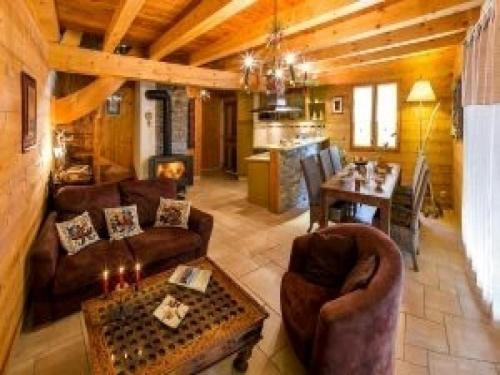 House Les chalets shangrila : Guest accommodation near Saint-Jacques-en-Valgodemard