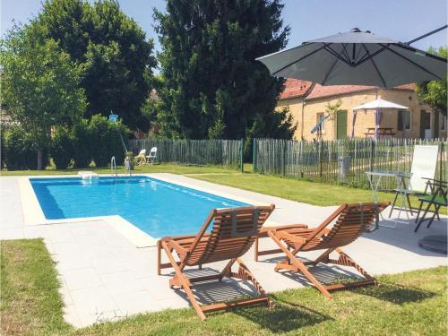 Holiday home Lalinde 68 with Outdoor Swimmingpool : Guest accommodation near Saint-Félix-de-Villadeix