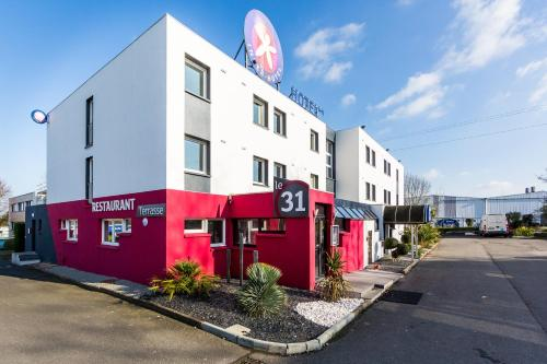 Hotel The Originals Nantes Ouest Agora (ex Inter-Hotel) : Hotel near Orvault