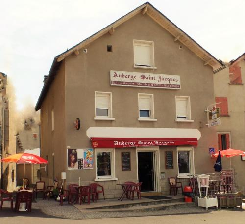 Auberge Saint Jacques : Guest accommodation near Rimeize