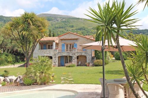 Villa L'Heure Bleu : Guest accommodation near Tourrettes-sur-Loup