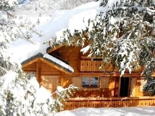 House Les chalets d' eden : Guest accommodation near Saint-Jacques-en-Valgodemard