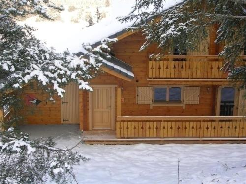 House Les chalets d' eden : Guest accommodation near Le Glaizil