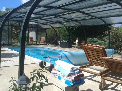 Holiday home Rue Chabrol : Guest accommodation near Boisset-et-Gaujac