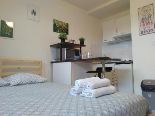 Home Sweet Apartment with Terrace + Parking : Apartment near Portet-sur-Garonne