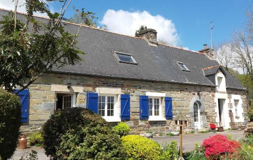 Couloumine breizh : Bed and Breakfast near Saint-Connec