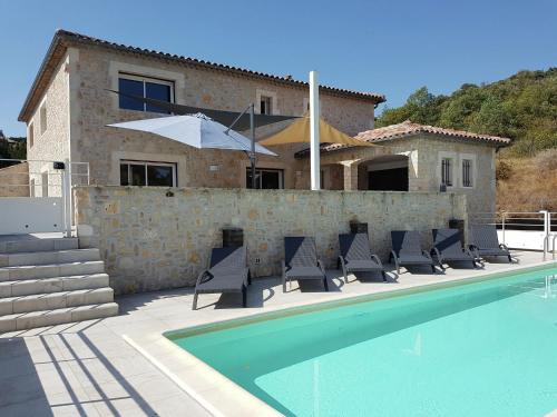 Villa Des 4 Vents B : Guest accommodation near Saint-Julien-de-Cassagnas