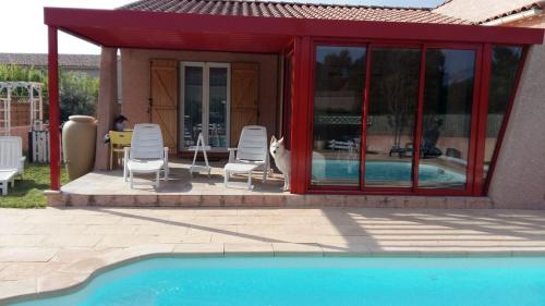 Holiday home Residence la Chapelle : Guest accommodation near Fontiès-d'Aude