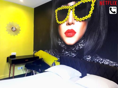 Le Glam's Hotel : Hotel near Gentilly