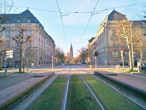 Avenue de La Paix : Apartment near Strasbourg