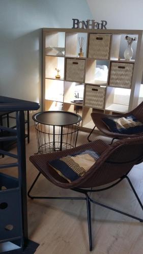 Studio des platanes : Apartment near Puceul