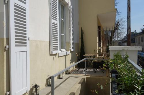 La Terrasse de Mademoiselle : Apartment near Fontenay-le-Fleury