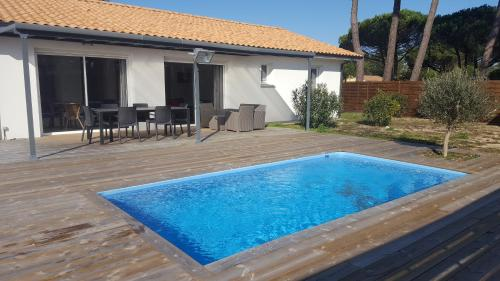 Be Free : Guest accommodation near Vendays-Montalivet