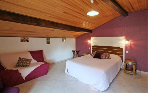 La Halte de Segondignac : Bed and Breakfast near Saint-Seurin-de-Cadourne