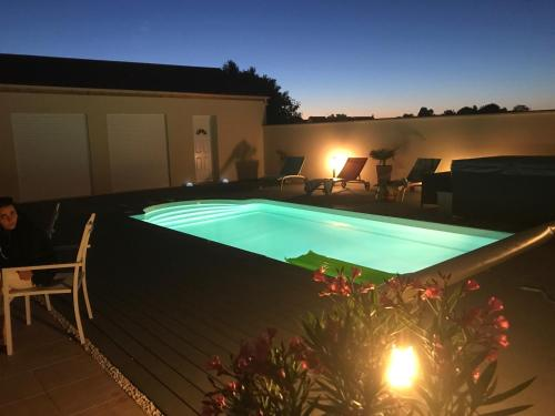 Chez Jojo & Cassi : Guest accommodation near Saint-Germain-Laxis